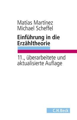 Abbildung von Martínez / Scheffel | Einführung in die Erzähltheorie | 11. Auflage | 2020 | beck-shop.de