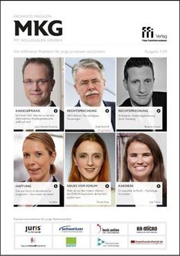 Abbildung von Fachinfo-Magazin MkG • Ausgabe 01/2020   2020   Von erfahrenen Praktikern für ...