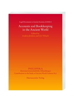 Abbildung von Yiftach / Jördens   Legal Documents in Ancient Societies   2020   Accounts and Bookkeeping in th...