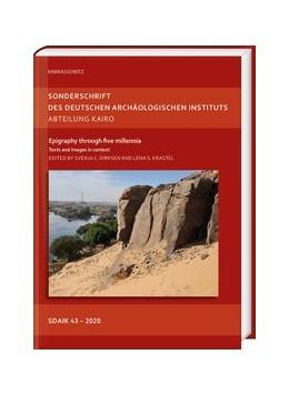 Abbildung von Dirksen / Krastel   Epigraphy through five millennia   2020   Texts and images in context