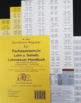 Abbildung von Dürckheim | DürckheimRegister - BMF-Lohnsteuerhandbuch/EStG. Fachassistent Lohn und Gehalt (2020) | 2. Auflage | 2020 | beck-shop.de