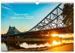 Abbildung von Zauberhaftes Dresden 2021 Kalendarium schwarz 60x40 cm | 2020