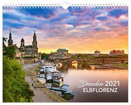 Abbildung von Dresden Elbflorenz 2021 Kalendarium schwarz 40x30 cm | 2020