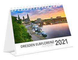 Abbildung von Dresden Elbflorenz kompakt 2021 Tischkalender 21x15 cm | 2020
