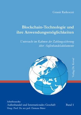 Abbildung von Ratkoceri | Blockchain-Technologie und ihre Anwendungsmöglichkeiten | 1. Auflage | 2020 | 1 | beck-shop.de