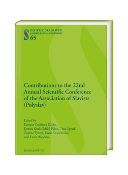 Abbildung von Gutierrez Rubio / Kruk | Contributions to the 22nd Annual Scientific Conference of the Association of Slavists (Polyslav) | 1. Auflage | 2020 | 65 | beck-shop.de