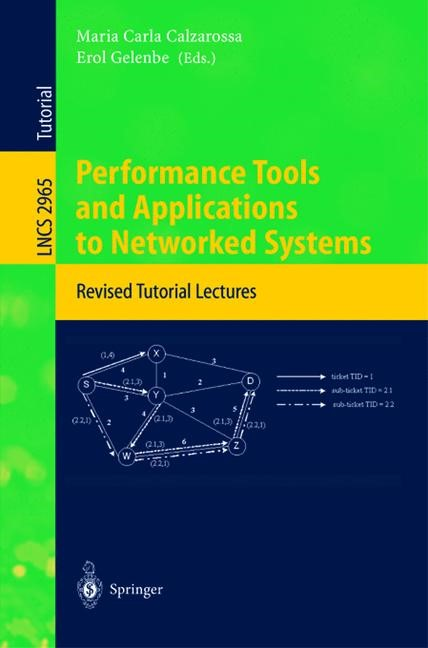 Abbildung von Calzarossa / Gelenbe | Performance Tools and Applications to Networked Systems | 2004