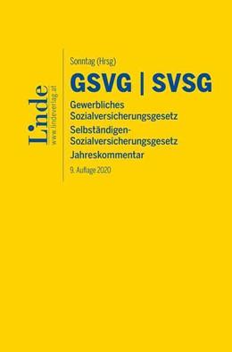 Abbildung von Derntl / Sonntag | GSVG | SVSG | 9. Auflage 2020 | 2020 | Jahreskommentar