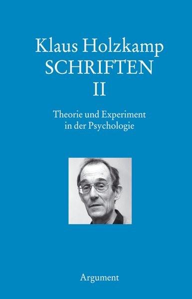 Abbildung von Holzkamp | Schriften II: Erkenntnistheorie - Methodologie | 2005