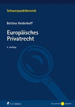 Abbildung von Heiderhoff   Europäisches Privatrecht   5. Auflage   2020   beck-shop.de