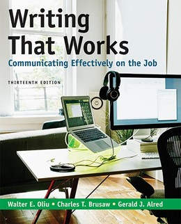 Abbildung von Writing That Works: Communicating Effectively on the Job   13rd ed. 2020   2020