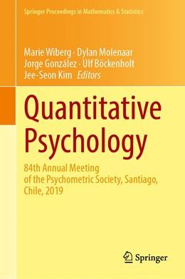 Abbildung von Wiberg / Molenaar / González / Böckenholt / Kim | Quantitative Psychology | 1st ed. 2020 | 2020 | 84th Annual Meeting of the Psy... | 322