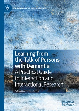 Abbildung von Stickle | Learning from the Talk of Persons with Dementia | 1. Auflage | 2020 | beck-shop.de