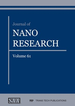 Abbildung von Meletis | Journal of Nano Research Vol. 61 | 2020 | Volume 61