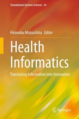 Abbildung von Matsushita | Health Informatics | 1st ed. 2020 | 2020 | Translating Information into I... | 24