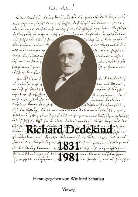 Abbildung von Scharlau | Richard Dedekind 1831–1981 | 1981