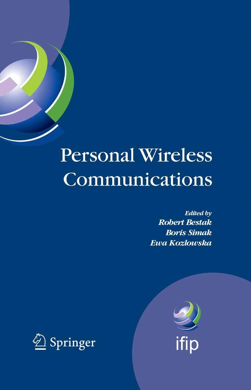 Abbildung von Bestak / Simak / Kozlowska | Personal Wireless Communications | 2007