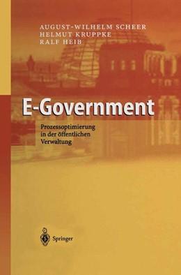 Abbildung von Scheer / Kruppke / Heib | E-Government | 2003 | Prozessoptimierung in der öffe...