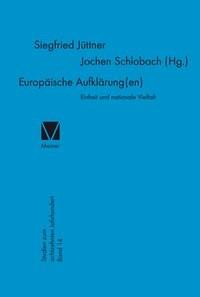 Abbildung von Jüttner / Schlobach | Europäische Aufklärung(en) | 2016