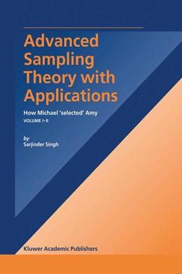 Abbildung von Singh | Advanced Sampling Theory with Applications | 2003