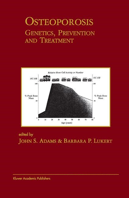 Osteoporosis: Genetics, Prevention and Treatment | Adams / Lukert, 1999 | Buch (Cover)