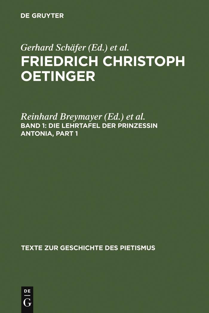Abbildung von Breymayer / Häussermann | Die Lehrtafel der Prinzessin Antonia | 1977 | 1977