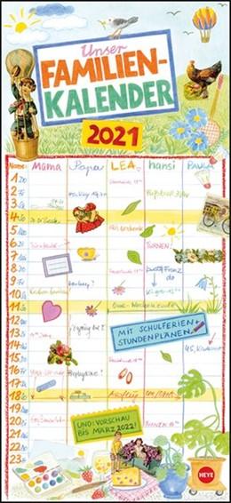 Abbildung von Heye | Gabi Kohwagner: Unser Familienkalender Kalender 2021 | 1. Auflage | 2020 | beck-shop.de