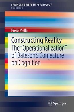 Abbildung von Mella   Constructing Reality   1st ed. 2020   2020   The