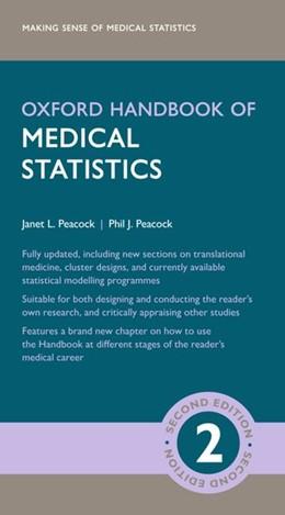 Abbildung von Peacock | Oxford Handbook of Medical Statistics | 2. Auflage | 2020 | beck-shop.de
