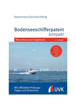 Abbildung von Wassermann / Simschek | Bodenseeschifferpatent kompakt | 4. Auflage | 2020 | beck-shop.de