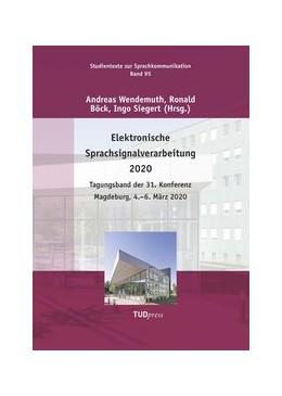 Abbildung von Wendemuth / Böck   Elektronische Sprachsignalverarbeitung 2020   1. Auflage   2020   beck-shop.de
