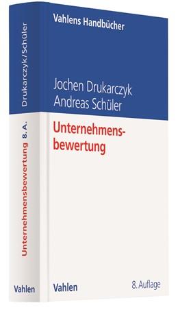 Abbildung von Drukarczyk / Schüler | Unternehmensbewertung | 8. Auflage | 2020