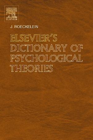 Abbildung von Roeckelein   Elsevier's Dictionary of Psychological Theories   2006