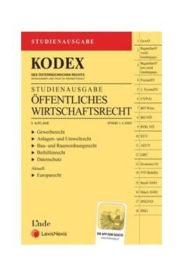 Abbildung von Doralt | KODEX Öffentliches Wirtschaftsrecht 2020 | 3. Auflage | 2020 | Studienausgabe