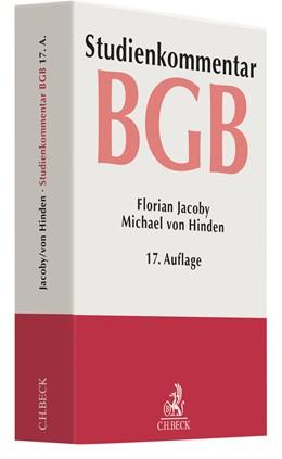 Abbildung von Jacoby / von Hinden | Bürgerliches Gesetzbuch: BGB | 17. Auflage | 2020 | beck-shop.de