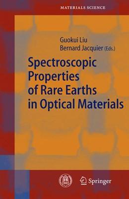 Abbildung von Liu / Jacquier   Spectroscopic Properties of Rare Earths in Optical Materials   2005   83