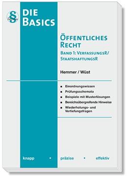 Abbildung von Hemmer / Wüst | Basics Öffentliches Recht I | 8. Auflage | 2020 | beck-shop.de