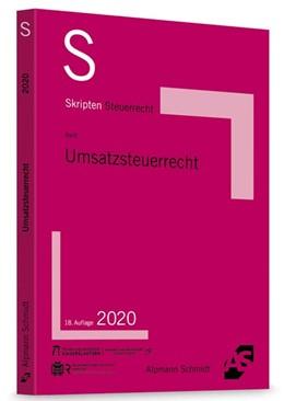 Abbildung von Reiß   Skript Umsatzsteuerrecht   18. Auflage   2020   beck-shop.de