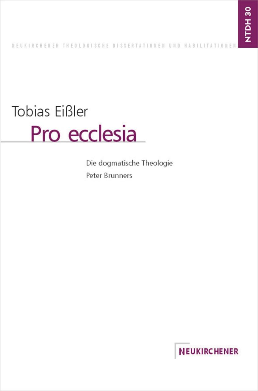 Abbildung von Eißler | Pro ecclesia | 2001