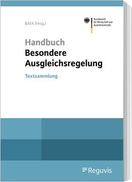 Abbildung von Bundesamt für Wirtschaft und Ausfuhrkontrolle - BAFA (Hrsg.) | Handbuch Besondere Ausgleichsregelung | 2020