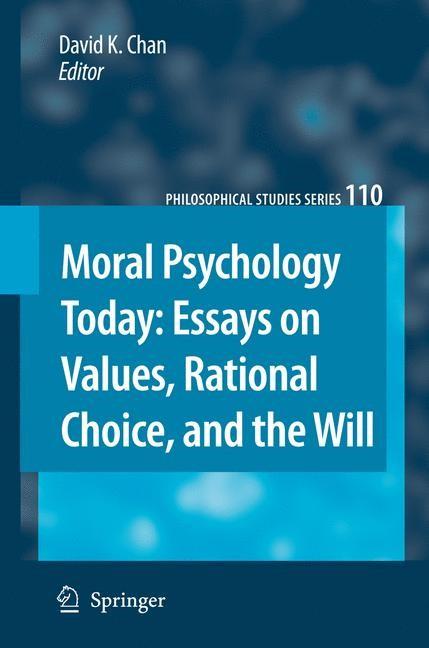 Abbildung von Chan | Moral Psychology Today | 2008
