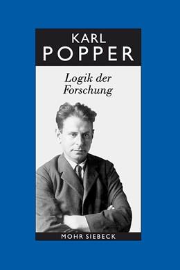Abbildung von Keuth / Popper   Gesammelte Werke   11., durchges. u. erg. A.   2005   Bd. 3: Logik der Forschung