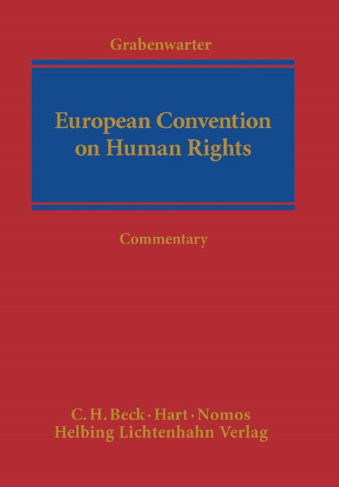 European Convention on Human Rights: ECHR | Grabenwarter, 2014 | Buch (Cover)