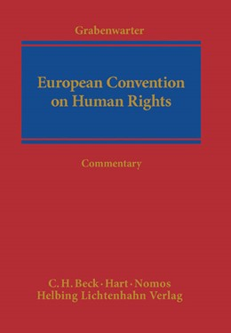 Abbildung von Grabenwarter | European Convention on Human Rights: ECHR | 2014
