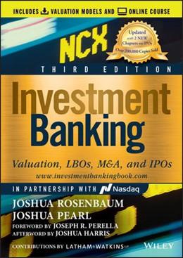 Abbildung von Rosenbaum / Pearl | Investment Banking | 3. Auflage | 2020 | beck-shop.de