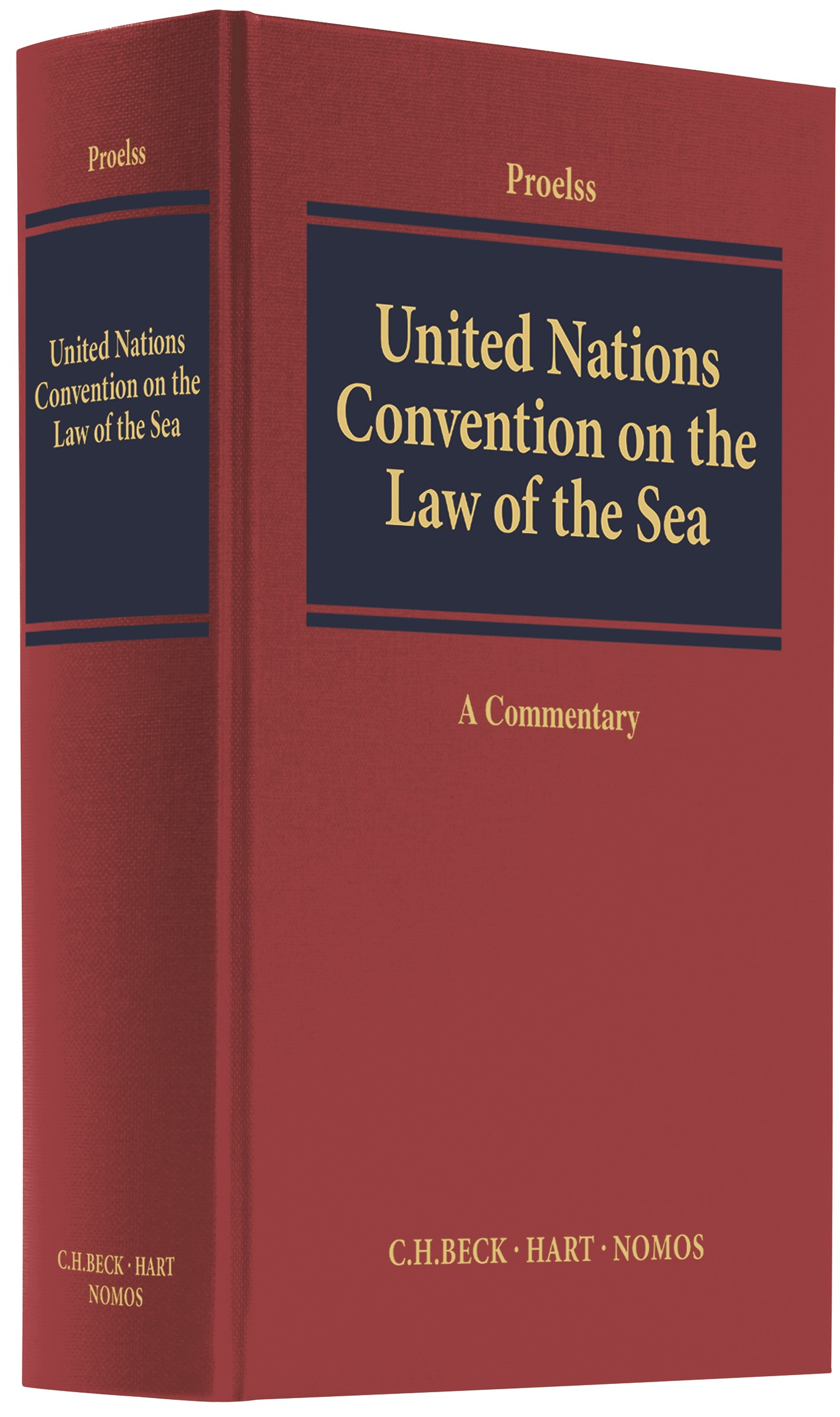 United Nations Convention on the Law of the Sea: UNCLOS | Proelss, 2017 | Buch (Cover)
