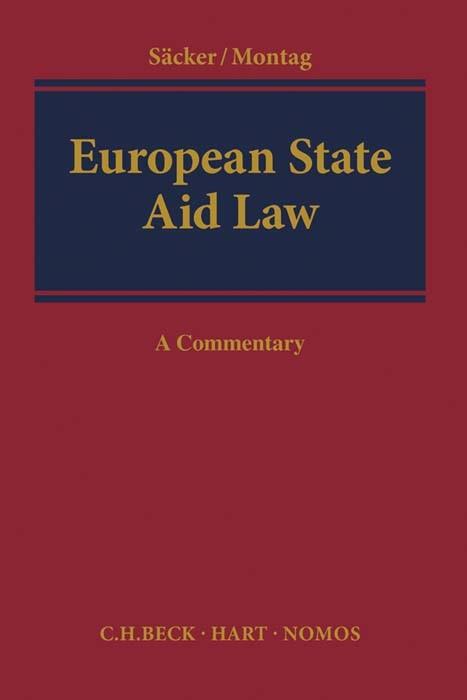 Abbildung von Säcker | European State Aid Law | 2016