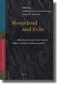 Abbildung von Galil / Geller / Millard | Homeland and Exile | xxiv, 648 pp. (672 pp.) | 2009