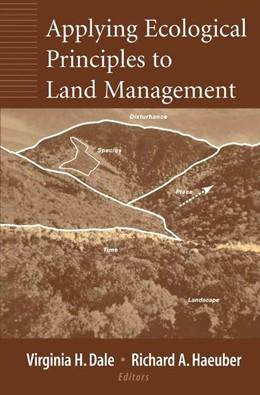 Abbildung von Dale / Haeuber | Applying Ecological Principles to Land Management | 2001