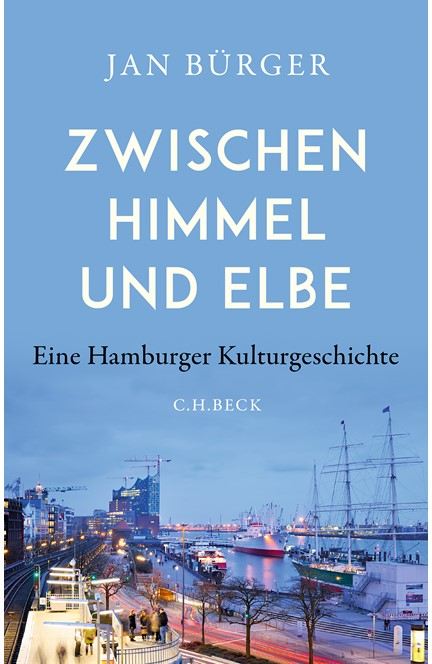 Cover: Jan Bürger, Zwischen Himmel und Elbe